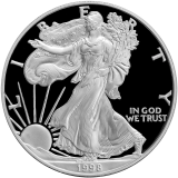 USA 1 Oz 1998 - Liberty In God we Trust - Proof