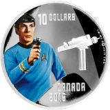 10 Dollars - Star Trek - Spock 2016