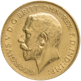 Gold Half Sovereign 1925 - George V.